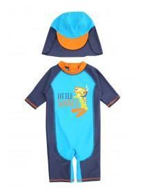Baby Boys Blue Sunsafe Swim Suit
