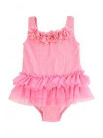 Baby Girl Pink Tutu Swimsuit
