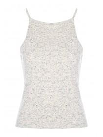 Womens Jersey Ribbed Vest
