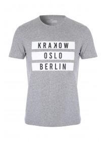 Mens Short Sleeve City T-Shirt