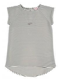 Older Girls Necklace Stripe Top