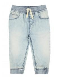 Baby Boys Light Blue Lightweight Jeans