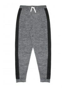 Older Boys Grey Space Dyed Tricot Joggers