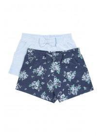 Younger Girls 2pk Shorts