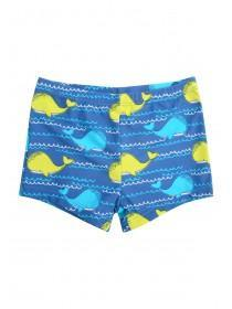 Baby Boys Blue Whales Swimshorts