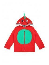 Younger Boys Welsh Dragon Zip Through Hoody