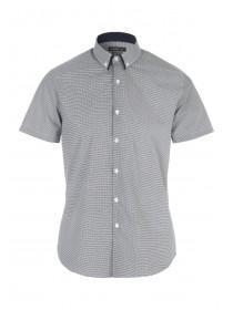 Mens Printed Short Sleeve Shirt