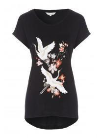 Womens Embroidered T-Shirt