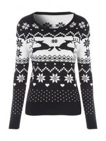 Womens Retro Xmas Jumper