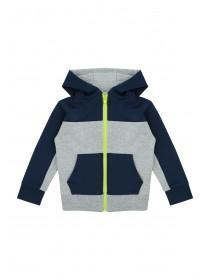 Younger Boys Tricot Zip Through Top