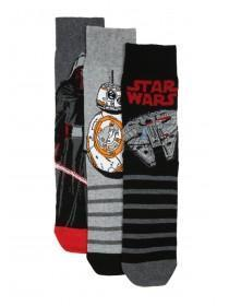Mens 3pk Star Wars Socks