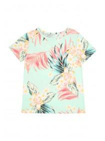 Older Girls Floral Pyjama Top