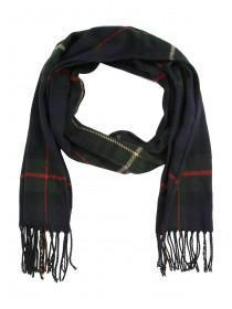 Mens Check Woven Scarf