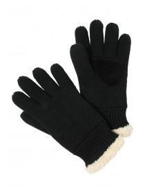 Mens Lined Shearling Glove