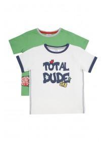 Younger Boys 2PK Skate Dude T-Shirts