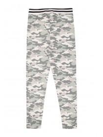 Older Girls Khaki Camo Leggings