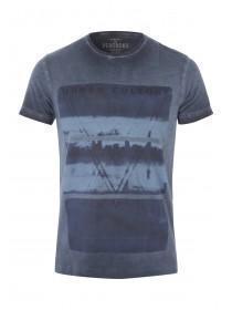 Mens Oil Wash Artisan T-Shirt