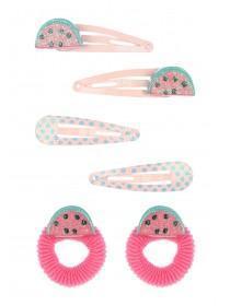 Younger Girls Watermelon Hair Set