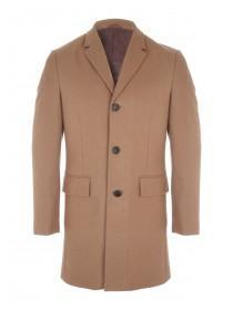 Mens Brisley And Green Wool Coat