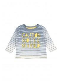 Baby Boys Long Sleeve Stripe T-Shirt