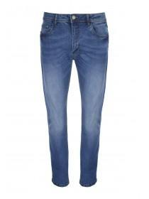 Mens Dark Blue Straight Jeans
