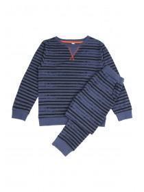 Boys Long Sleeve Striped Pyjama Set