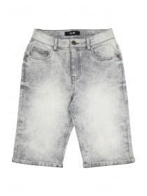 Older Boys Grey Denim Shorts