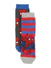 Boys 2PK Spiderman Socks