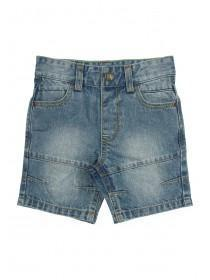 Younger Boys Blue Denim Shorts