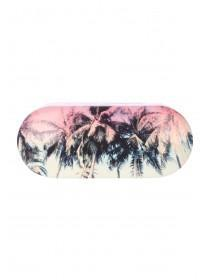 Womens Palm Tree Hard Sunglasses Case