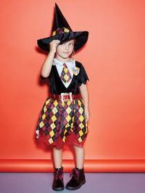 Kids Witch Fancy Dress Outfit