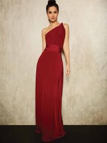 Womens ENVY Berry Multiway Maxi Dress