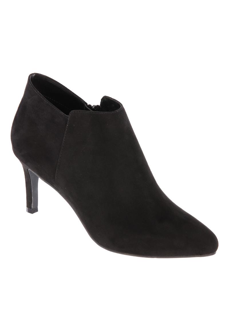 Womens ENVY Black Slim Heeled Ankle