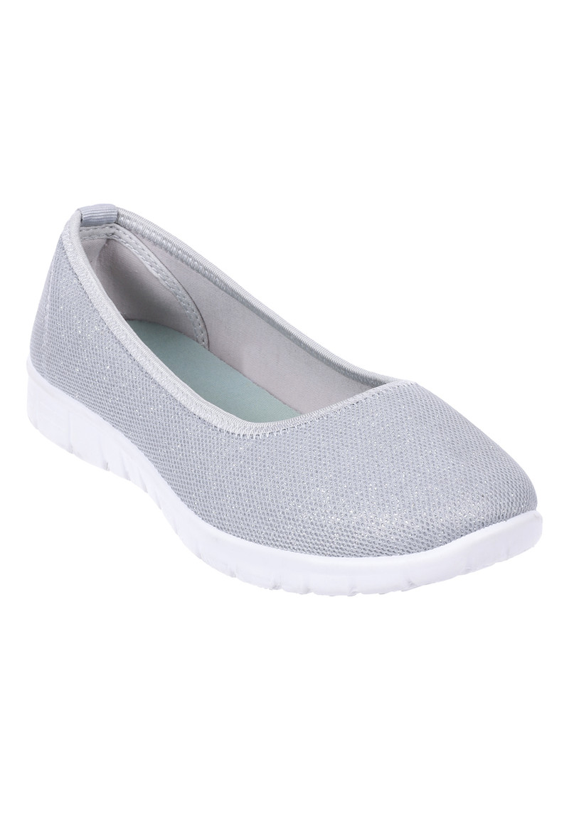 Womens Silver Slip On Trainers | Peacocks