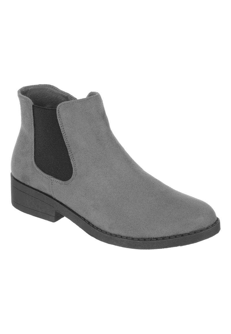 Womens Grey Chelsea Boots | Peacocks